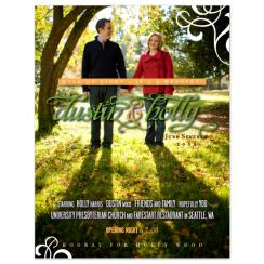 Hooray for Holly Wood Save the Date Cards