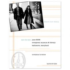 Share Our Story Save the Date Cards