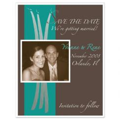 Modern Elegance Save the Date Cards