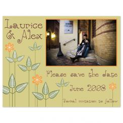 Haute Nature Save the Date Cards