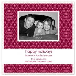 Gone Dotty Holiday Photo Cards