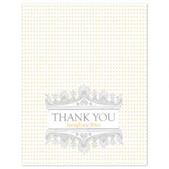 Delicate Thank You Cards