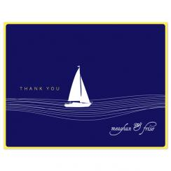 All at Sea Thank You Cards