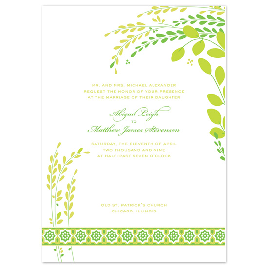 wedding invitations - Bloom by Peculiar Pair Press
