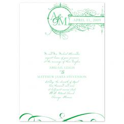 spring Sign Wedding Invitations