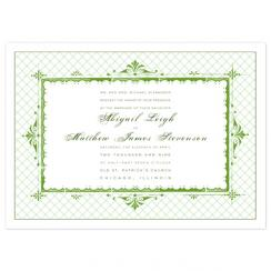 Treillage Wedding Invitations