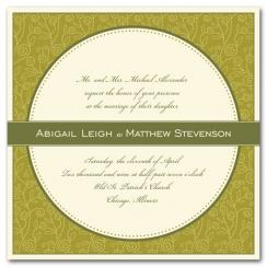 Dotty Blooms Wedding Invitations