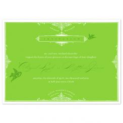 Charming Spring Wedding Invitations