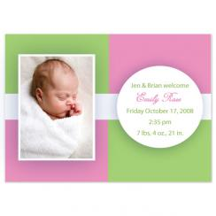 Emily Rose Birth Announcements