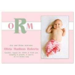 Olivia Sweet Birth Announcements