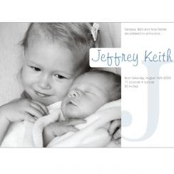 Soft and Subtle Birth Announcements