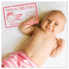Postal Baby Birth Announcements