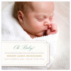 In Stitches Birth Announcements