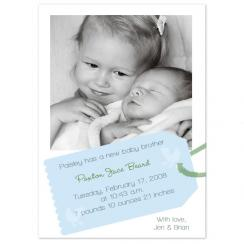 Paxton Cute Birth Announcements