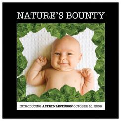 Nature's Bounty Birth Announcements