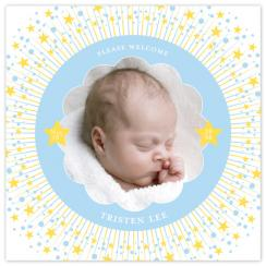 Wish Upon A Star Birth Announcements