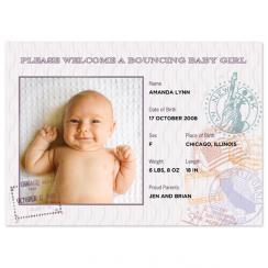 Passport Birth Announcements