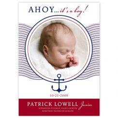 AHOY! Birth Announcements