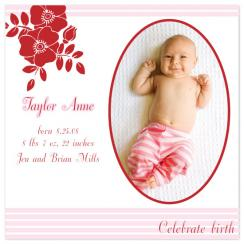 Sweet Whimsy Birth Announcements