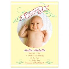Presenting... Birth Announcements