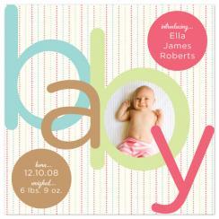 Ella Birth Announcements