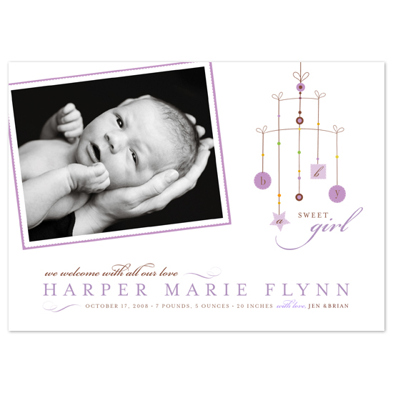 birth announcements - Mobile by Ann Rae Creative