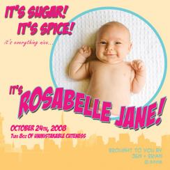 Super Baby! Birth Announcements