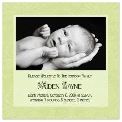 Aiden Love Birth Announcements