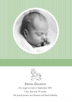 Angel Baby Birth Announcements