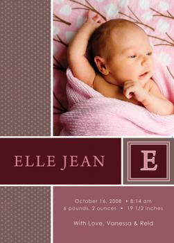 Sofisink Birth Announcements
