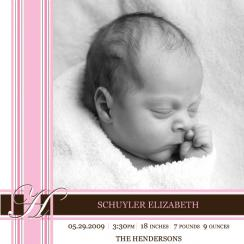 schuyler Birth Announcements