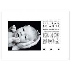 drama Birth Announcements