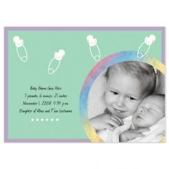 Darling Ducklings Birth Announcements