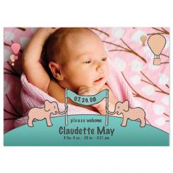 Elley-funt Fun Birth Announcements