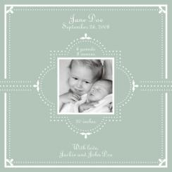 Sweet Baby Birth Announcements