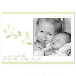 Spring Vine Birth Announcements