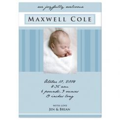 stripes Birth Announcements