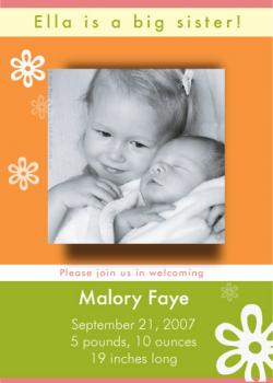 Happy Day! Birth Announcements