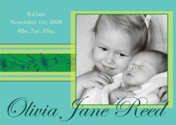 Simply Cool Birth Announcements