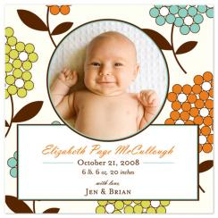 Poppy Birth Announcements