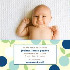 Berries Birth Announcements
