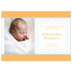 Blossom Birth Announcements