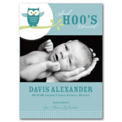 Hoo Hoo Birth Announcements