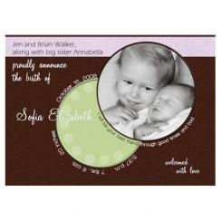 Your best friend Birth Announcements