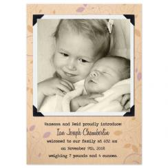 family album Birth Announcements