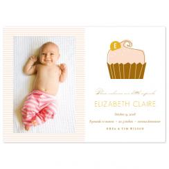 little cupcake Birth Announcements