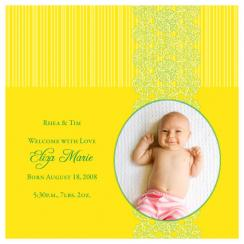 Sunny Days Birth Announcements