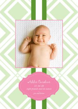 Addie Birth Announcements