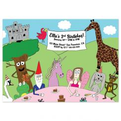 Some Enchanted Birthday Birthday Party Invitations