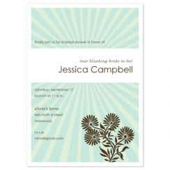 Bright Shower Wedding Stationery